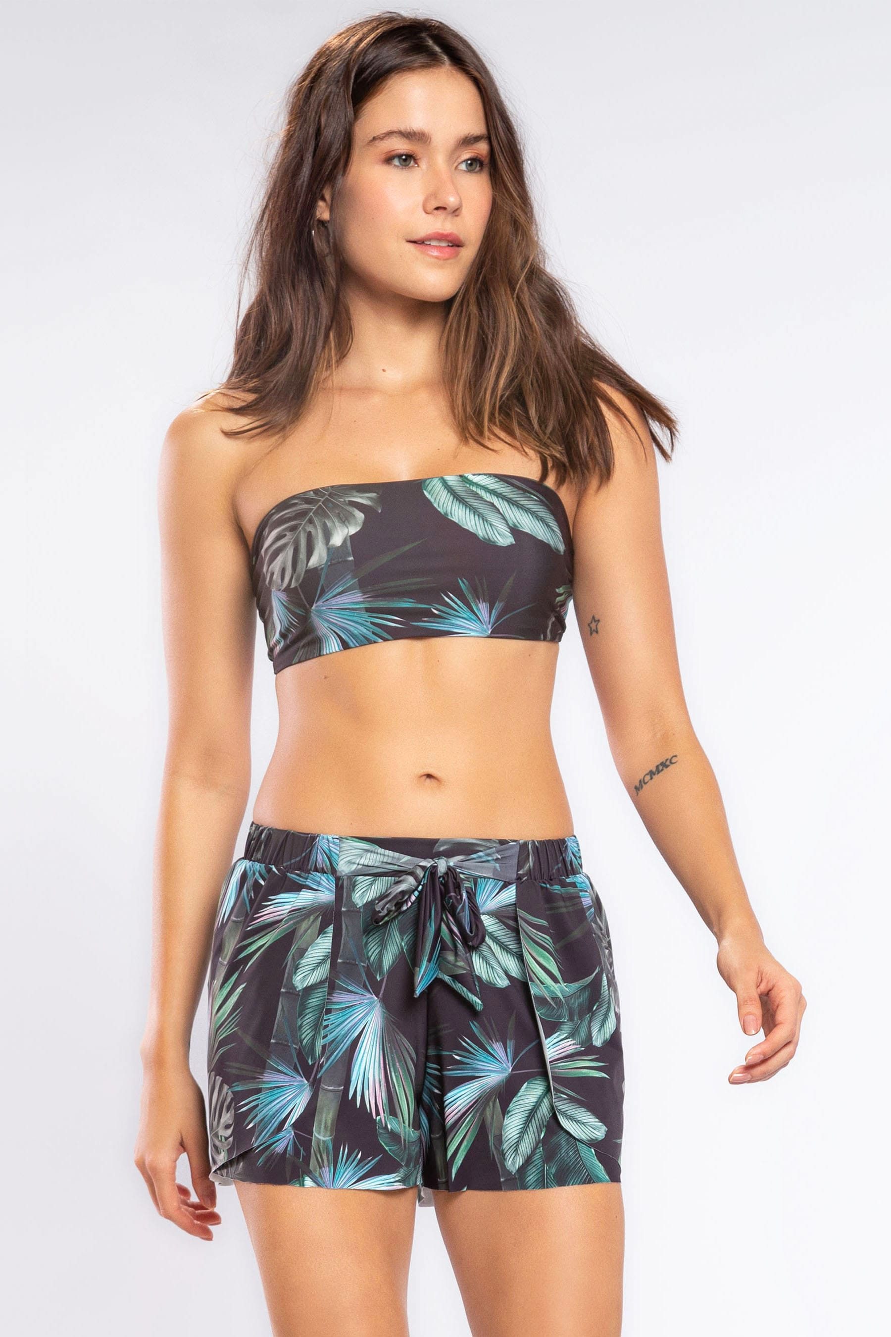 Forest Tie Shorts 2
