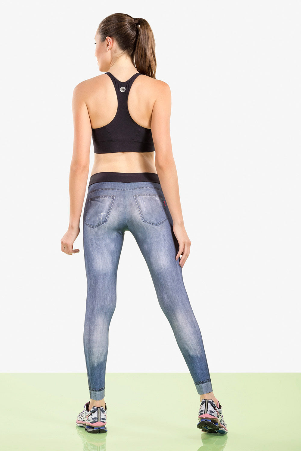 Legging Athletic Stamp