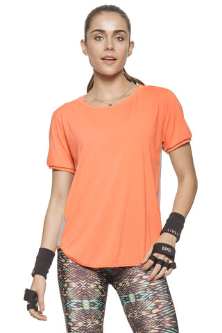 Citrus Oversized Top