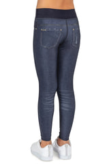 Blur Reversible Denim Kids Legging