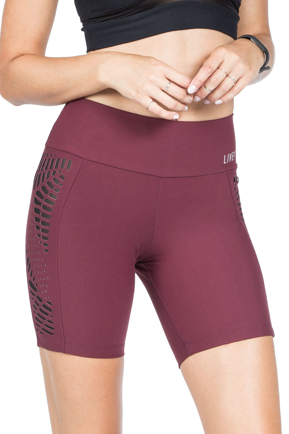 Laser Illusion Compress Cyclist Shorts