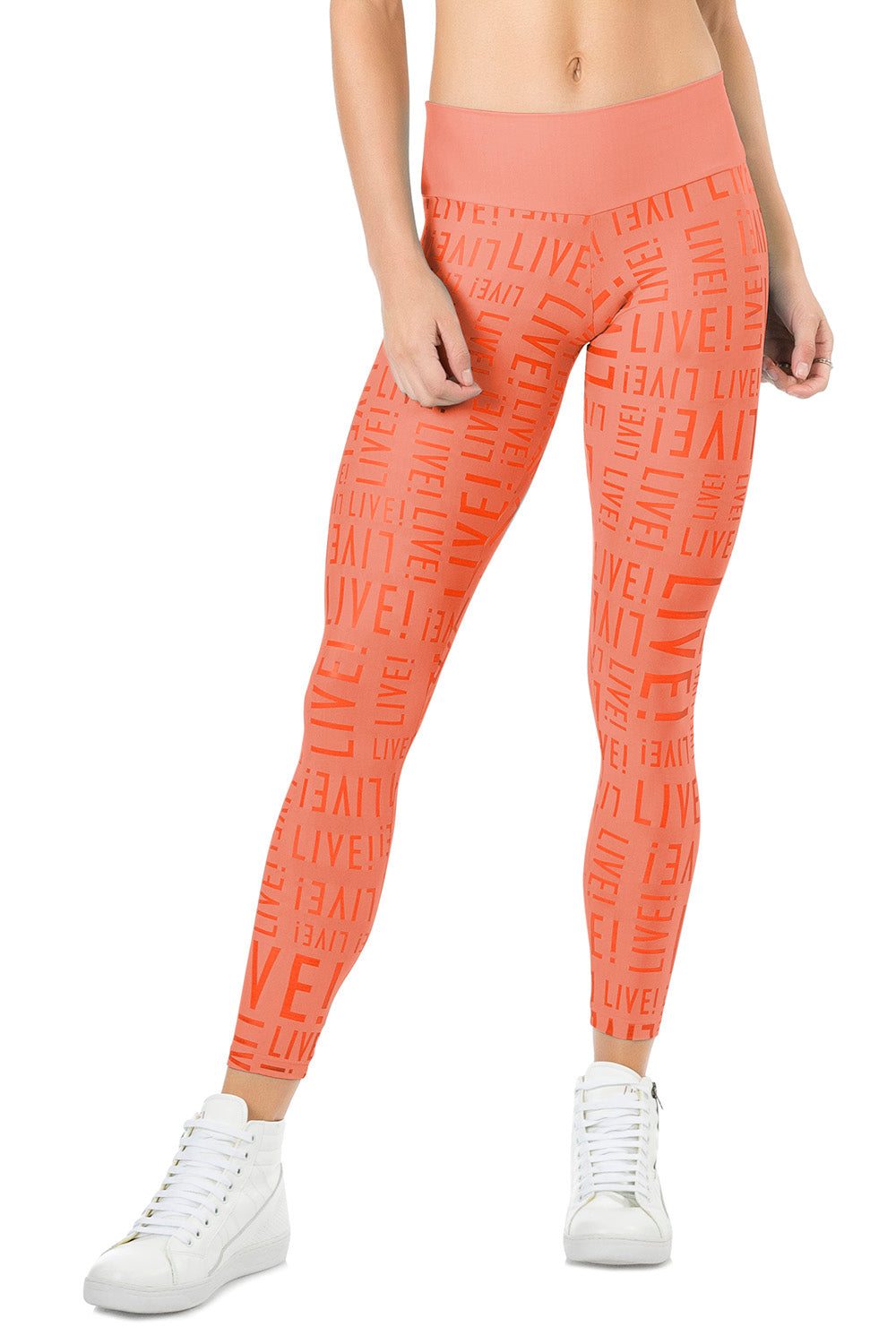 Orange L! Flash Legging