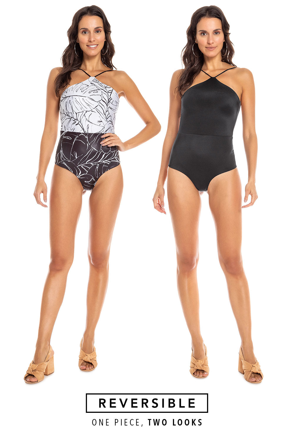 Riviera Dusk Reversible One Piece
