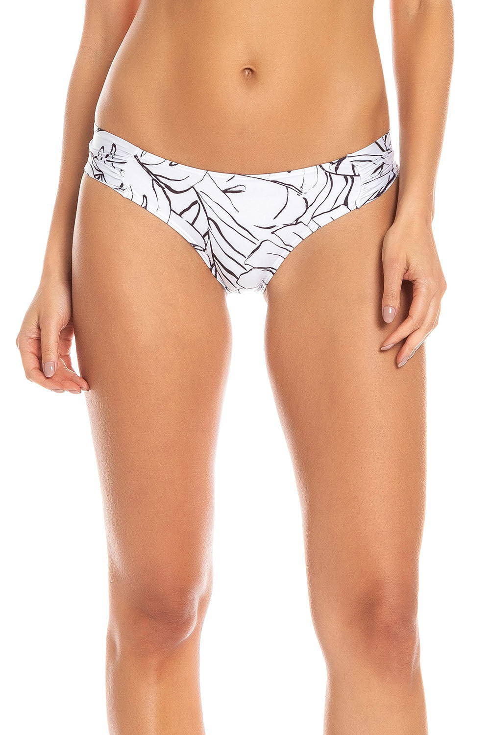 Neutral Botanic Butterfly Tanga
