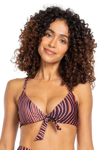 Lion Multifunctional Tie Halter Top 1