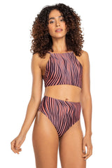 Lion High Rise Hot Pant