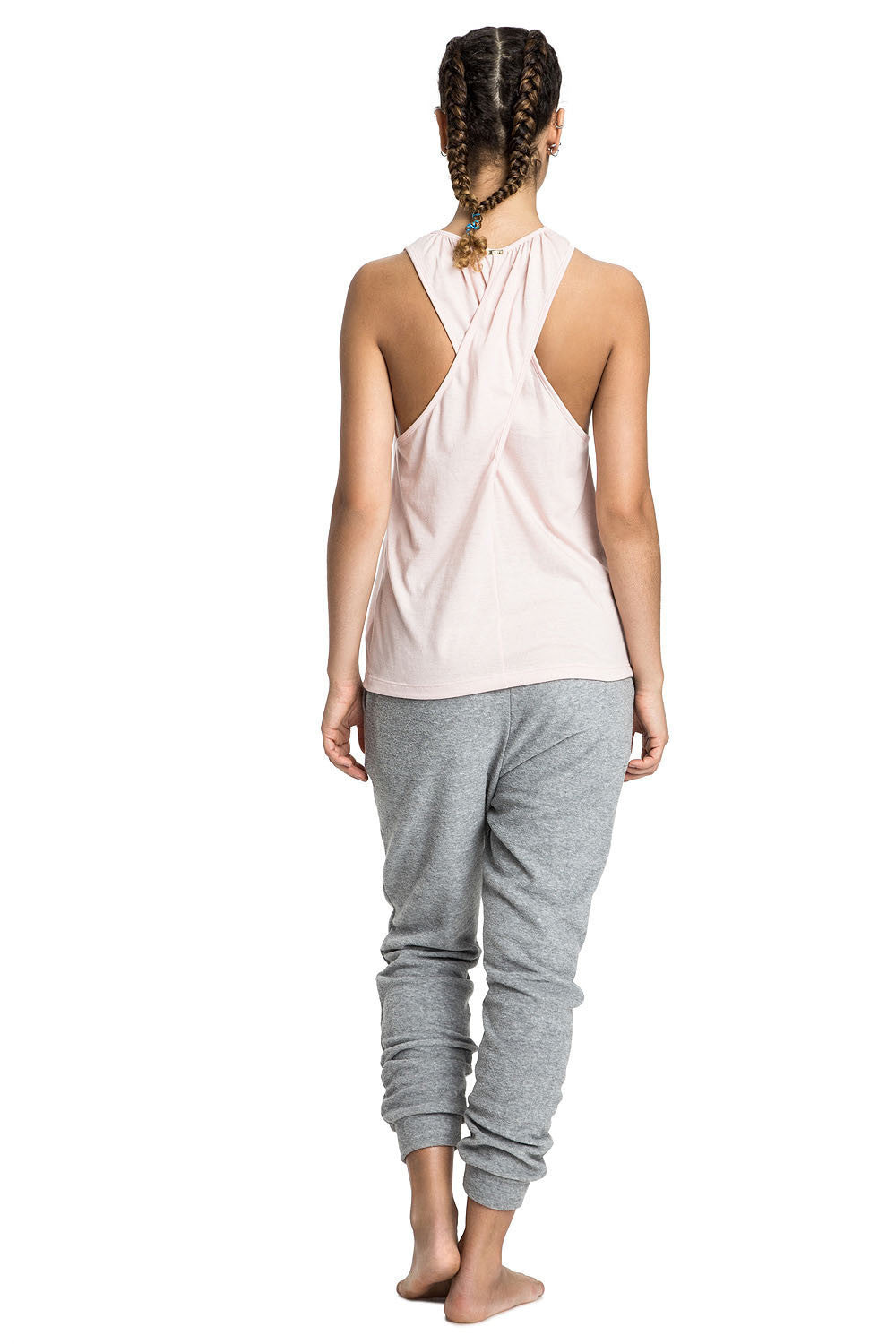 Zen Maxi Cross Tank Top