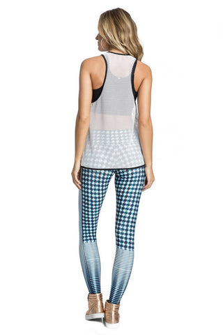 Mesh Team Fit Maxi Tank Top
