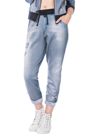 Sculpt Neo Denim Boyfriend Pants