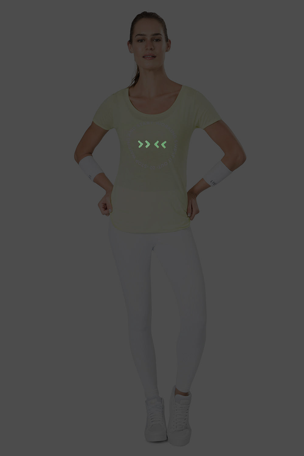 Sweat It Out Glow Tee