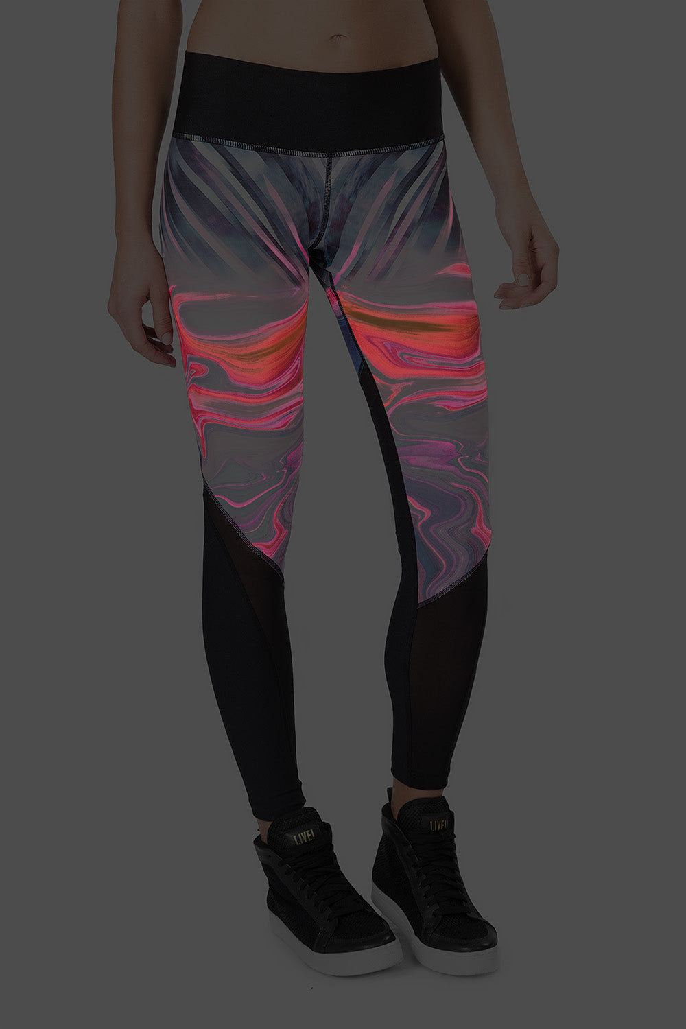 Sculpt Power Glow Reversible Legging 2
