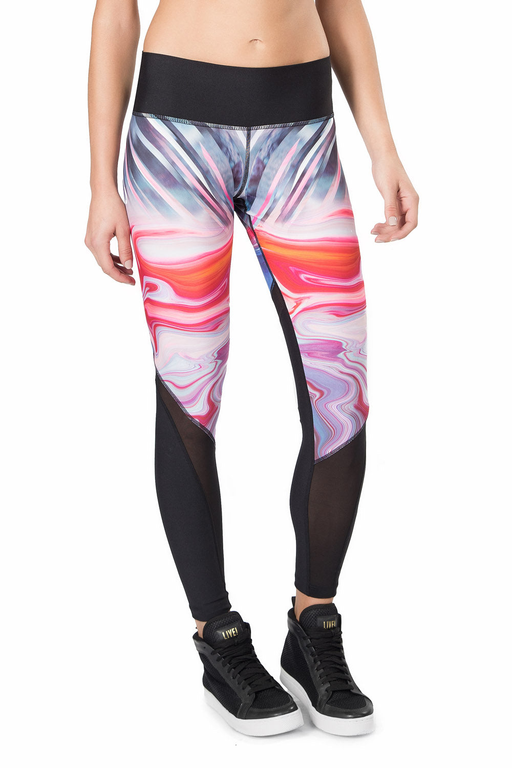 Sculpt Power Glow Reversible Legging 1