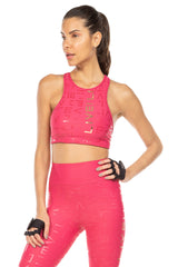 Lux LIVE! Icon Halter Top