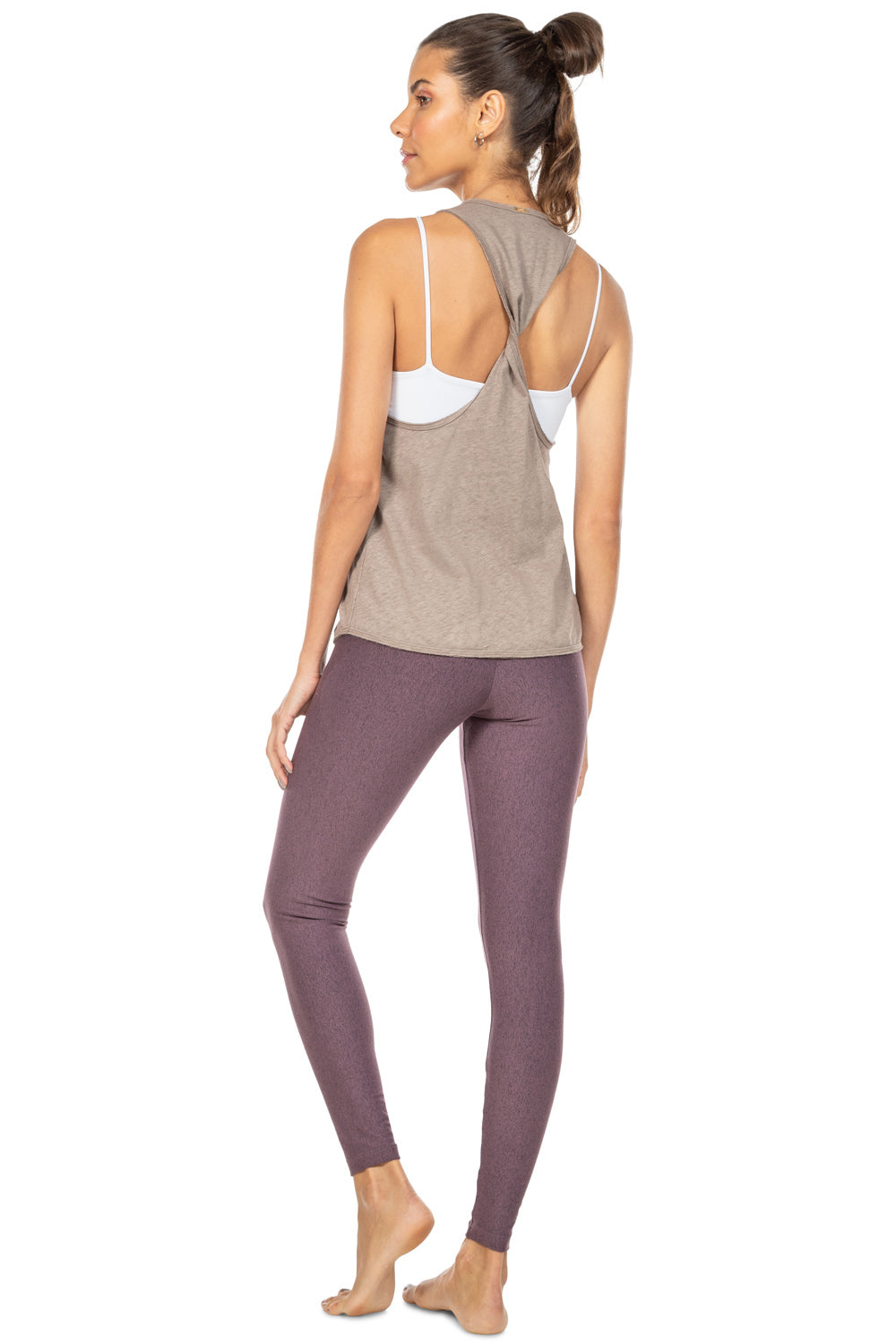 Natural Eco Twist Racer Tank 2