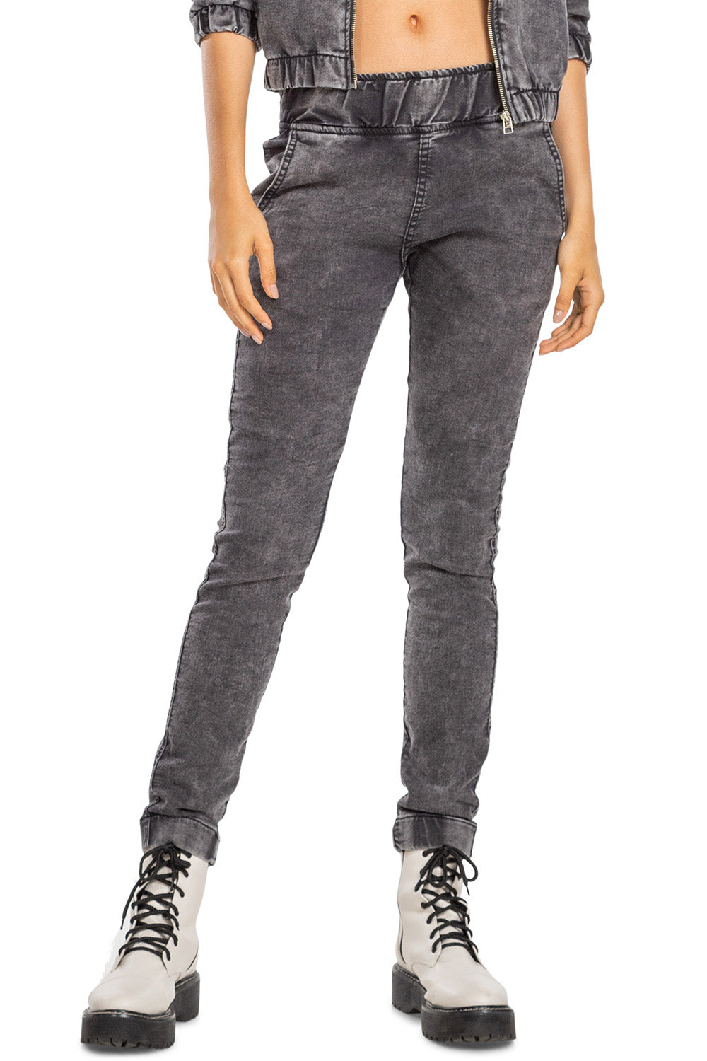 Indigo Denim Boyfriend Pants 1
