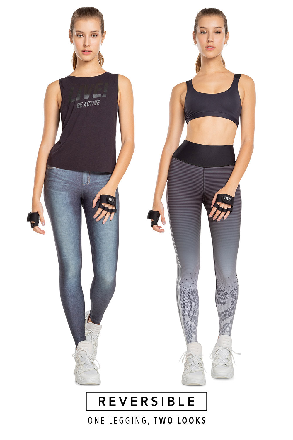 Motion Rever Denim Legging 1