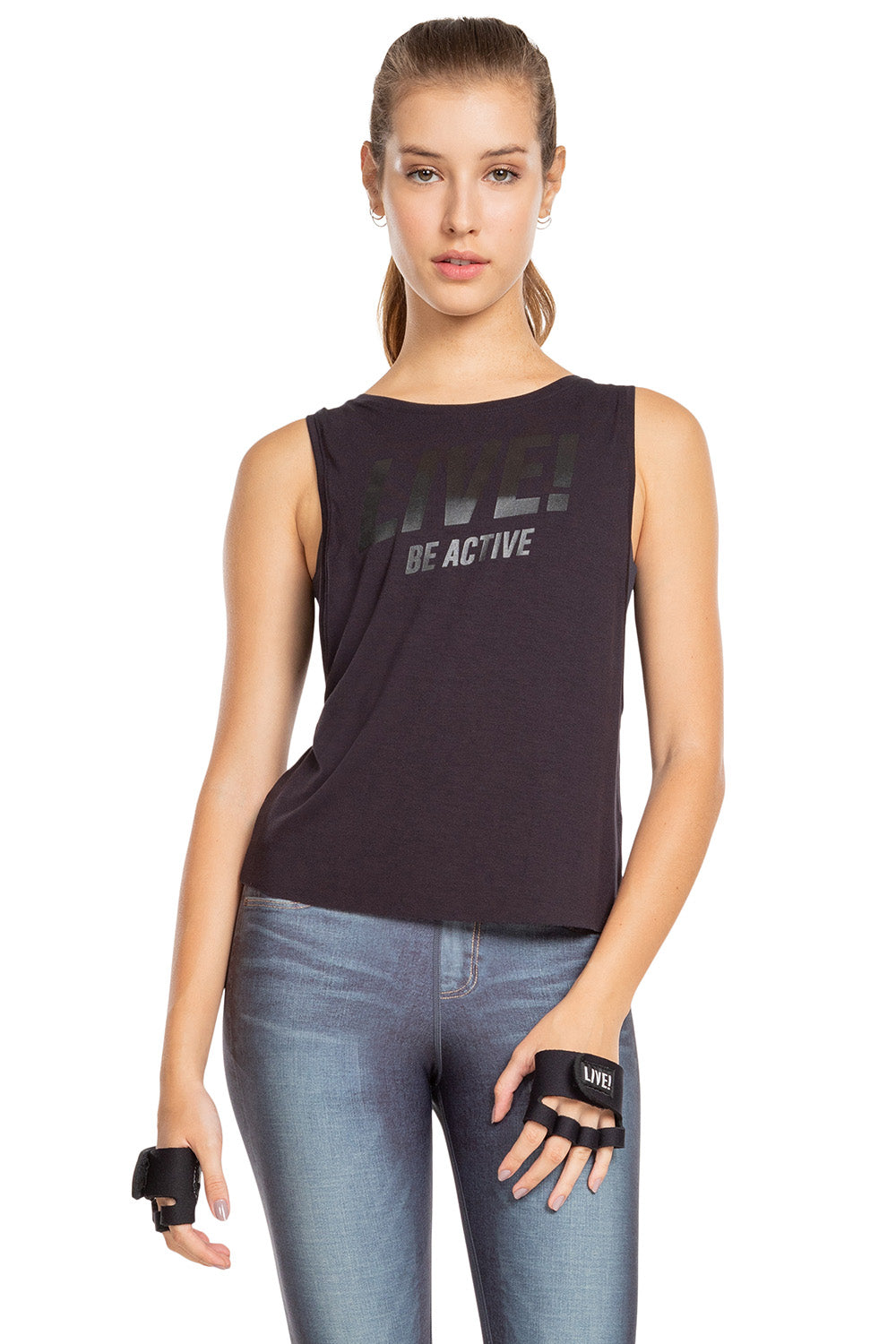 Motion Cropped Tank 1