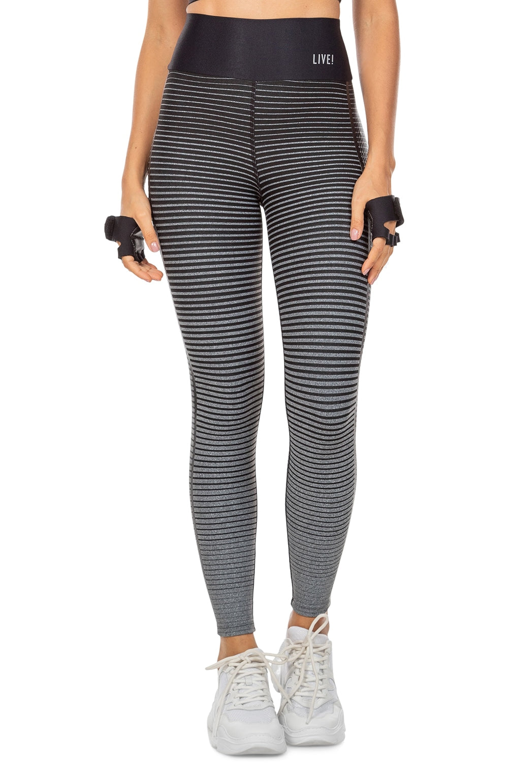 Stripe Effect Vibes Legging