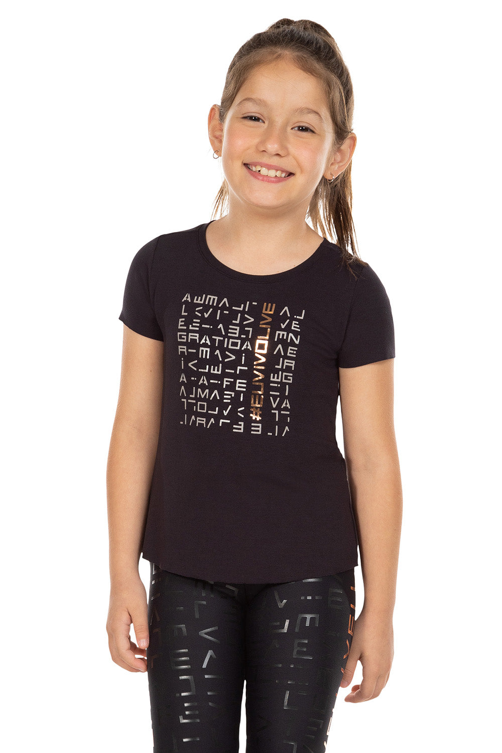 LIVE! Icon Lux Kids Tee 1
