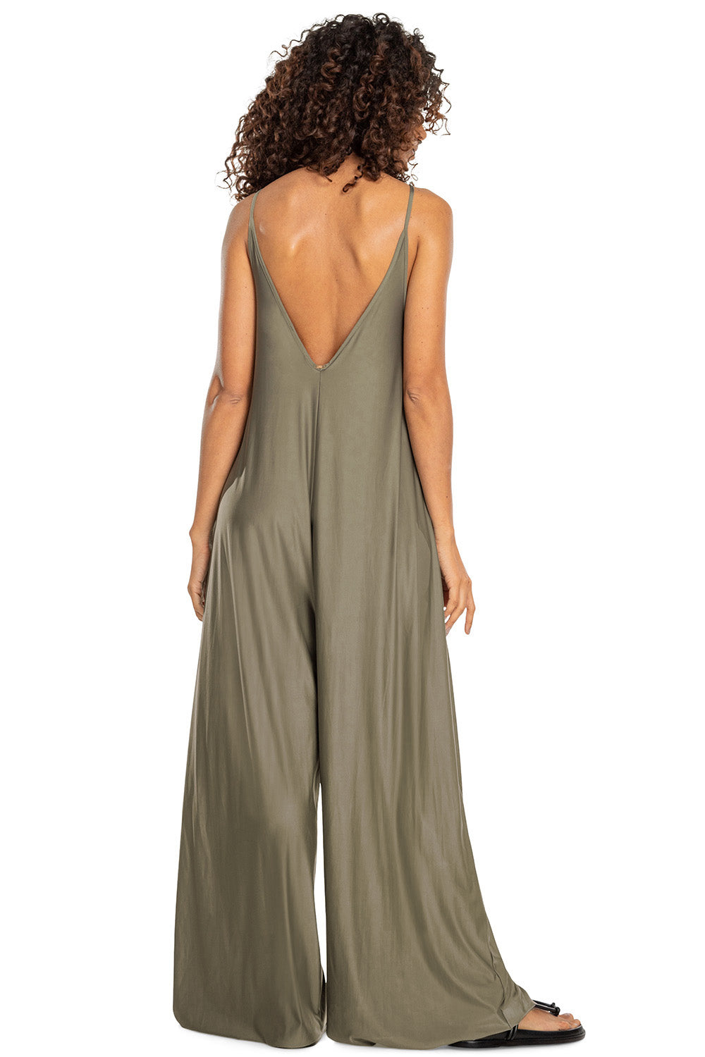 Deep V Jumpsuit 2