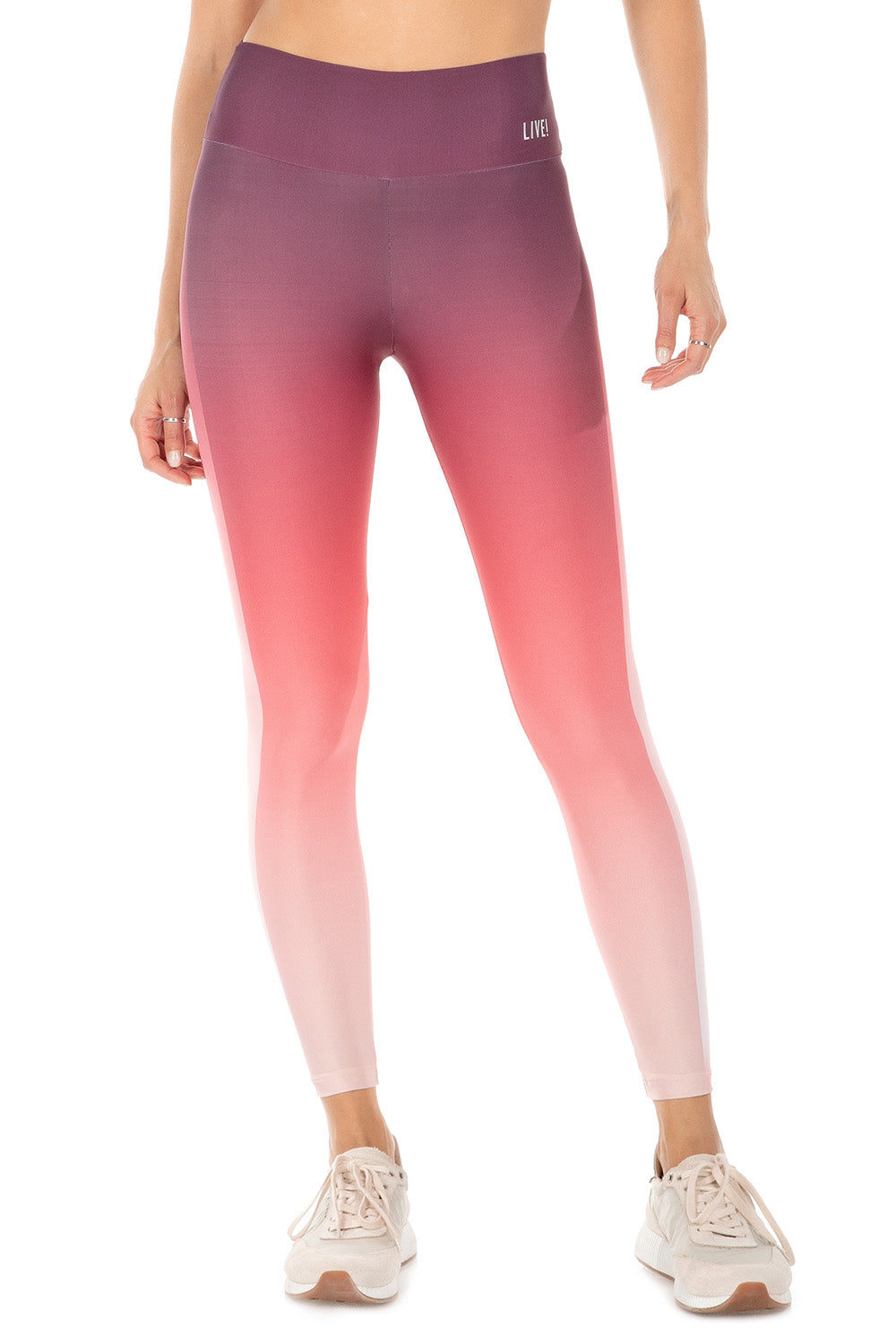 Red Gradient Live! ID Legging