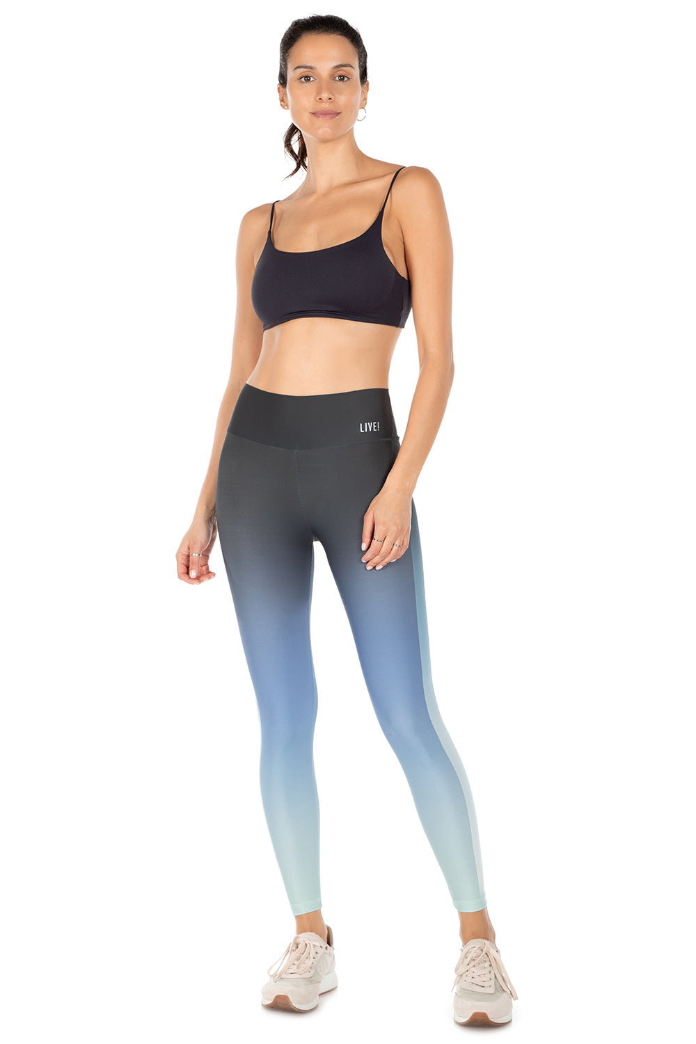 Blue Gradient Live! ID Legging