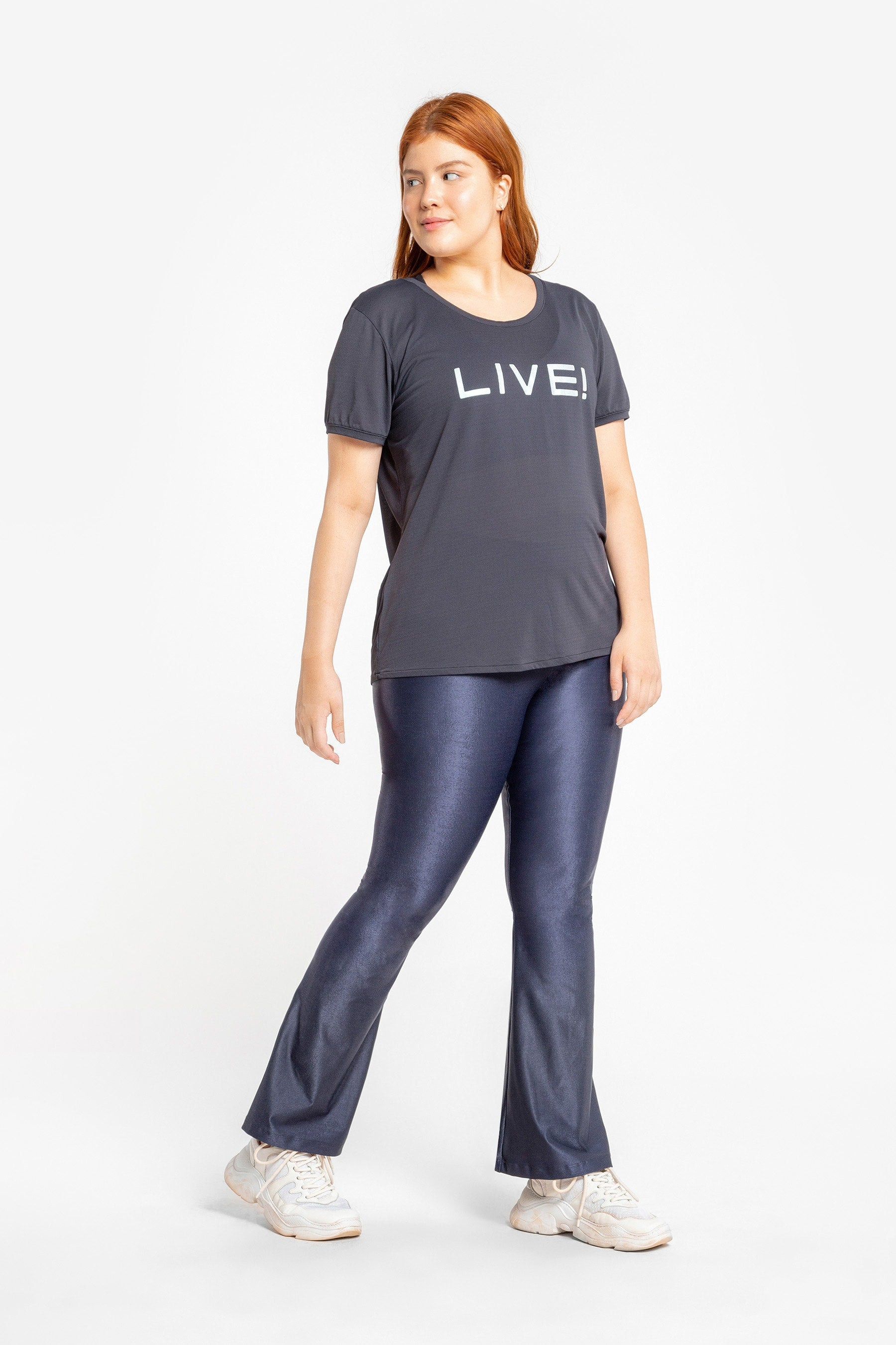 LIVE!+ Essential Flare Pants 2