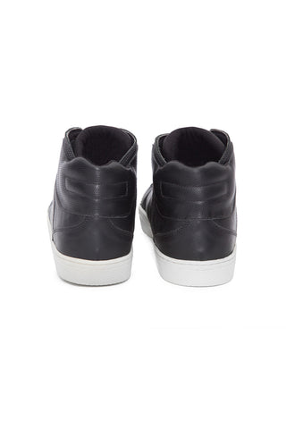 High Top Black Power Sneaker