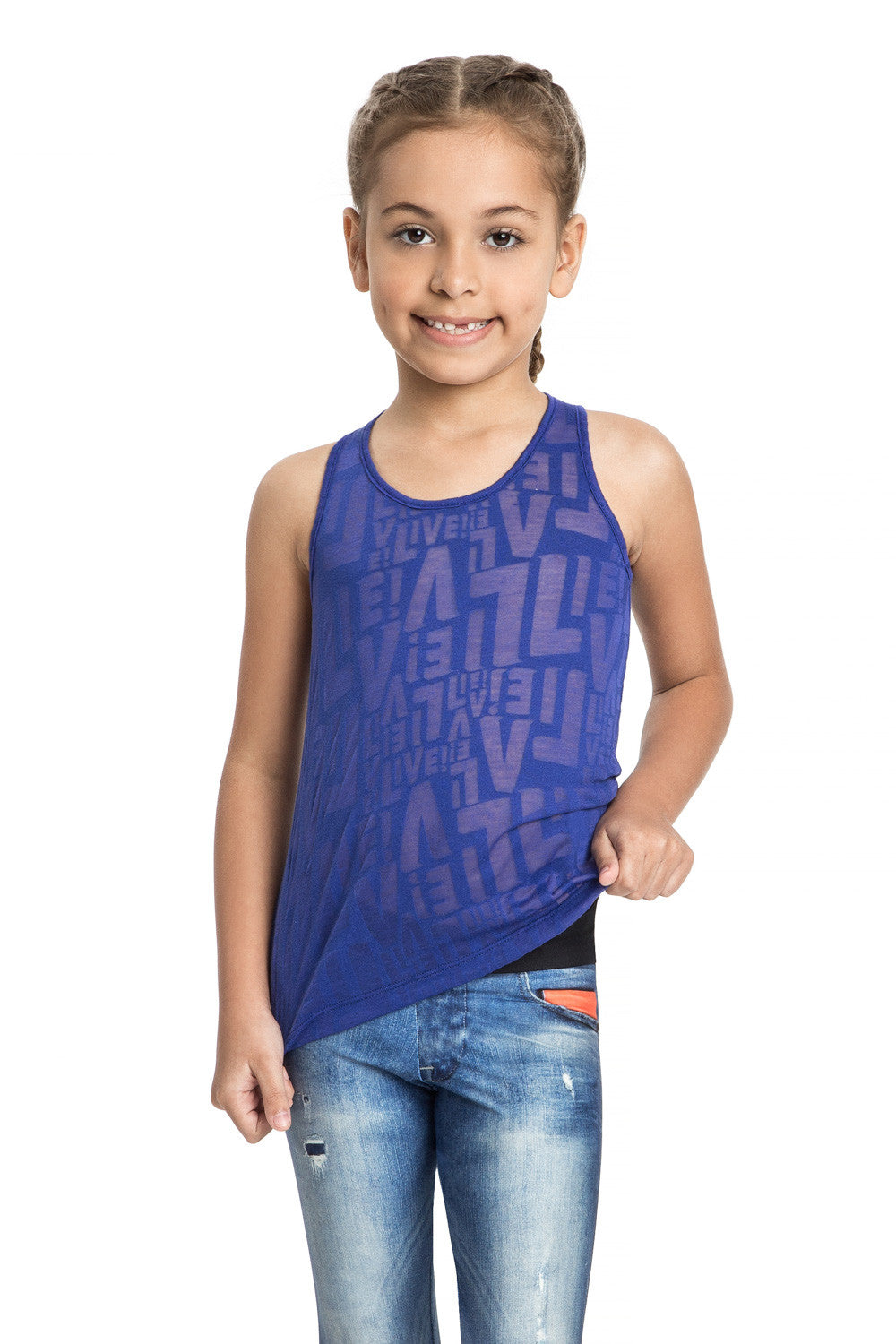 Devore See Kids Tank Top 1