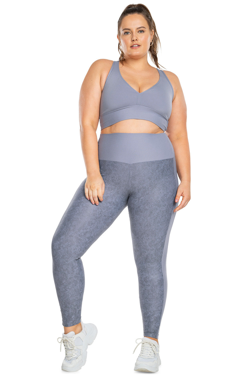 LIVE!+ Unique Up Style Legging (Plus Size)