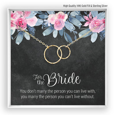 Bride <br> Linked Circles Necklace - Bella and Blush