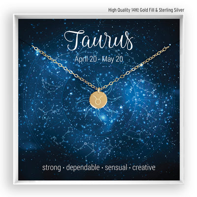 Taurus Necklace - Bella and Blush