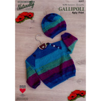 Gallipoli Pattern Leaflet 4ply