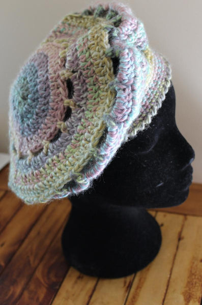 Jenny Brown 12 Ply Slouch Beret Pattern