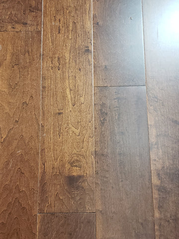 "Dark Mustang - 1/2"" Engineered Hardwood - 2727.12 SF Available"