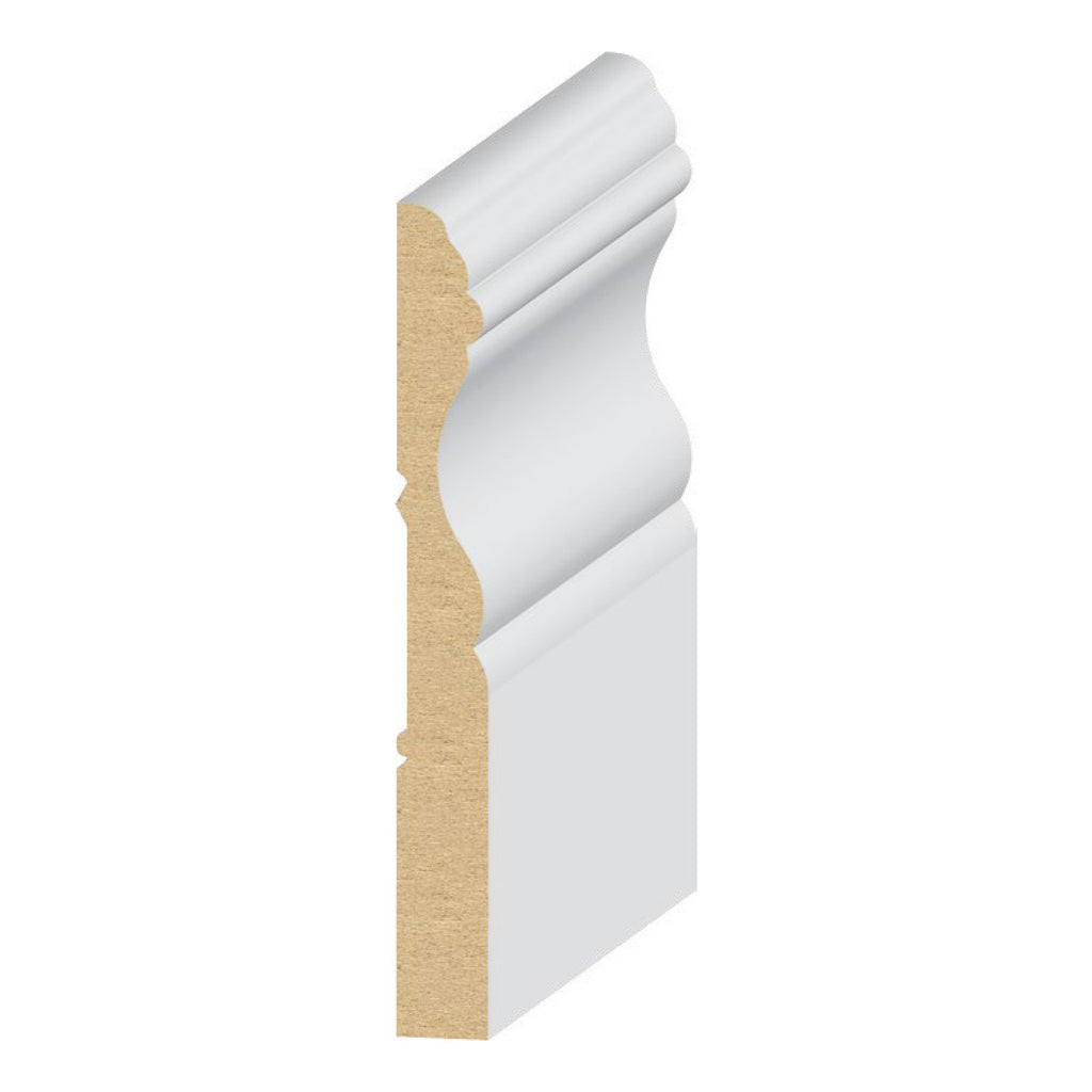 Cape Cod Base 3 7/8 '' Molding 313MUL - Baseboard by EL and EL Wood Products
