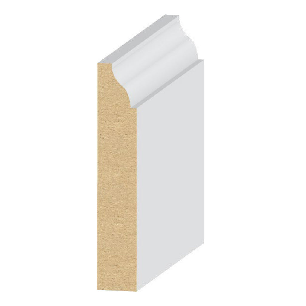 #623 Base 3 1/4 '' Molding 314MUL-3 - Baseboard by EL and EL Wood Products