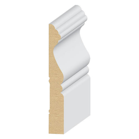 Cape Cod Base 4'' Molding 318MUL - Baseboard by EL and EL Wood Products