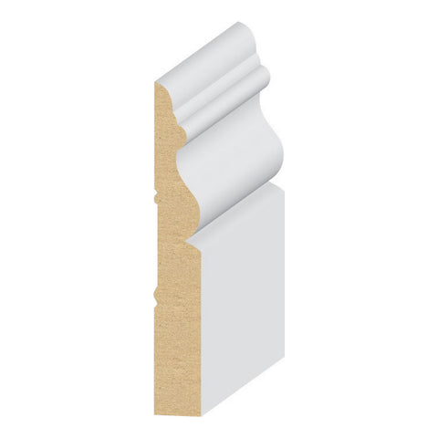 Newport Base 3 7/8 '' Molding 329MUL - Baseboard by EL and EL Wood Products
