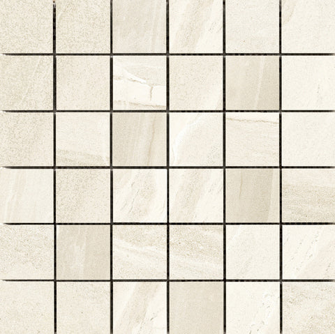 "NOSFPB ACCESS - 2""x2"" on 12""x12"" Mesh Mosaic Glazed Porcelain Tile by Emser - The Flooring Factory"
