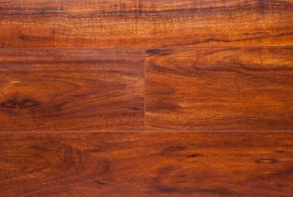 Exotic Collection Brazilian Cherry 12mm Laminate Flooring By Eternity The