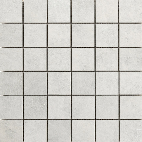 "CHIADO - 2"" x 2"" on 12"" X 12"" Mesh Glazed Porcelain Tile by Emser - The Flooring Factory"
