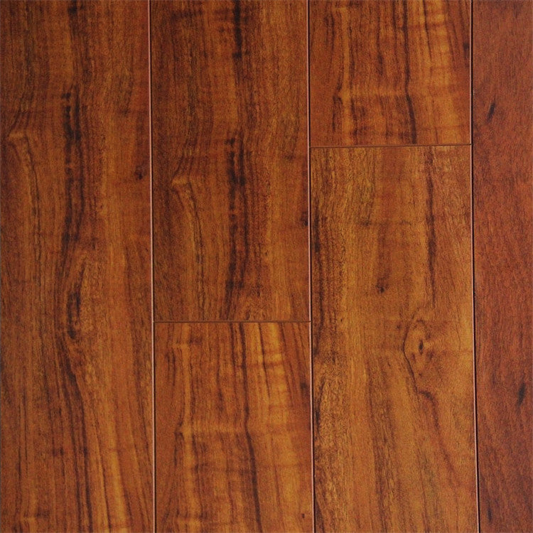 Exotic collection brazilian cherry 12mm laminate for Infinity laminate flooring