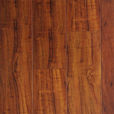 Brazilian Cherry Distressed - Exotic Collection - 12.3mm Laminate Flooring by Eternity - The Flooring Factory