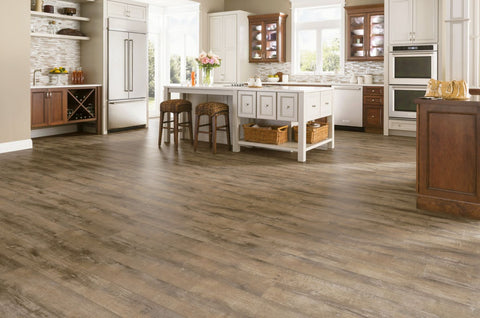 Etched Light Brown - 12mm Laminate Flooring by Armstrong - Laminate by Armstrong