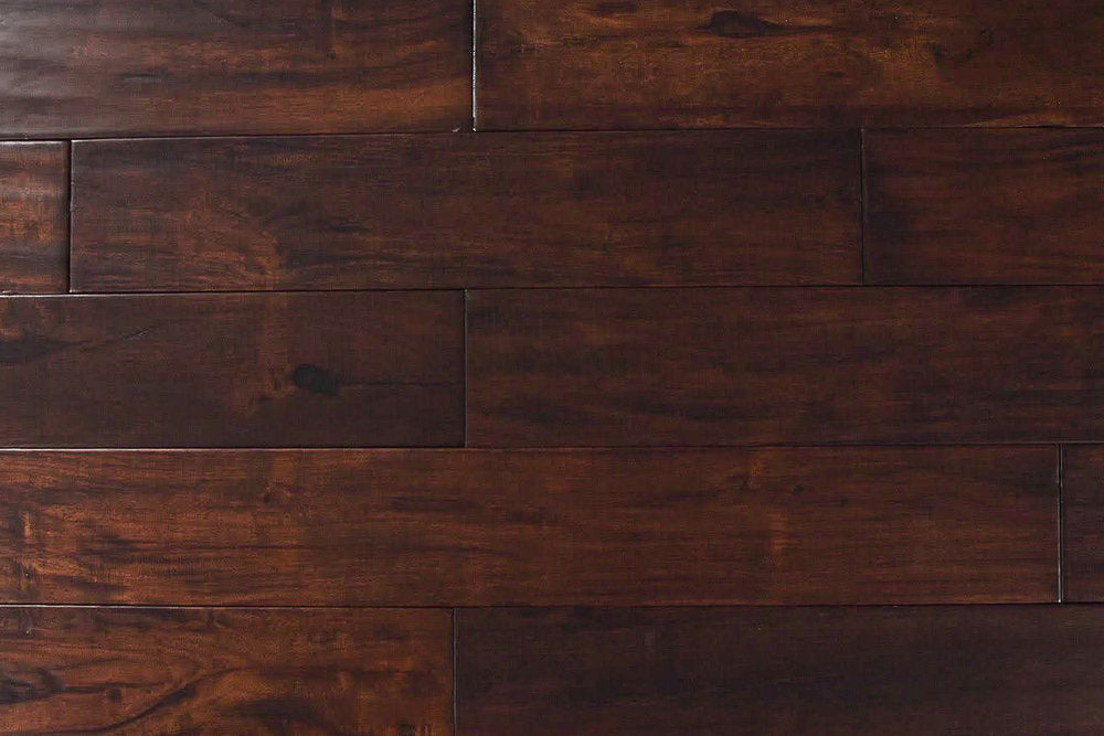 Exotic Walnut Dark - Exotic Walnut Collection - Solid Hardwood Flooring by  Tropical Flooring