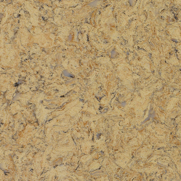 Golden Butterfly Prefabricated Quartz Countertop by BCS Vienna - Countertops by BCS Vienna