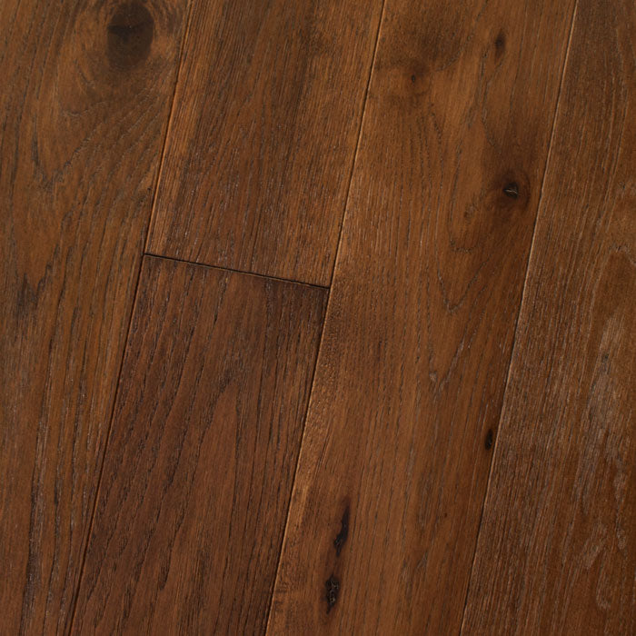 "Hickory Jamocha - Hickory Wire-Brushed Collection - 7"" Engineered Hardwood Flooring by HomerWood - Hardwood by HomerWood"