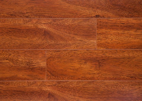 Jatoba Semi Gloss - V-Groove Collection - 12.3mm Laminate Flooring by Eternity - The Flooring Factory