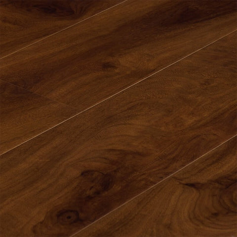 Macadamian Walnut - Impact Collection - 12mm Laminate by Dyno Exchange - The Flooring Factory